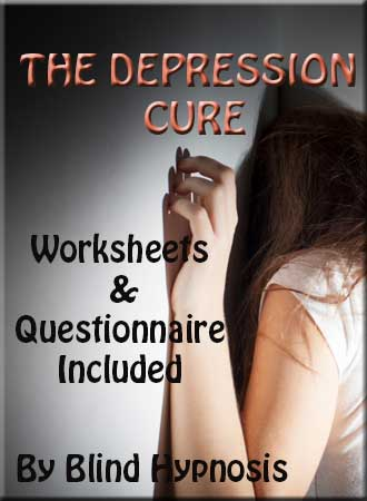 Depression PDF Book: Worksheets & Questionnaire for Cure After