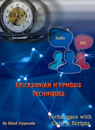 Milton Erickson Hypnosis PDF - Techniques with Card