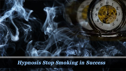 hypnosis stop smoking in success