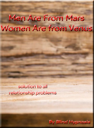 Men From Mars Women From Venus Summary