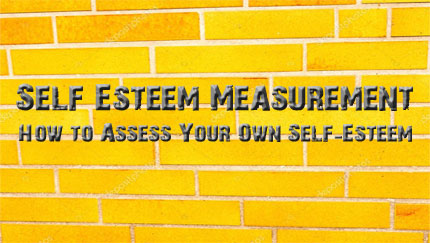 self esteem measurement