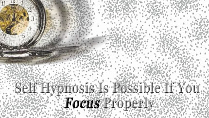 self hypnosis focus