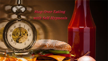 stop over eating with self hypnosis