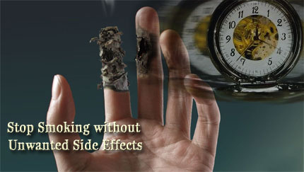 stop smoking without unwanted side effects