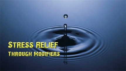 stress relief thought modifiers